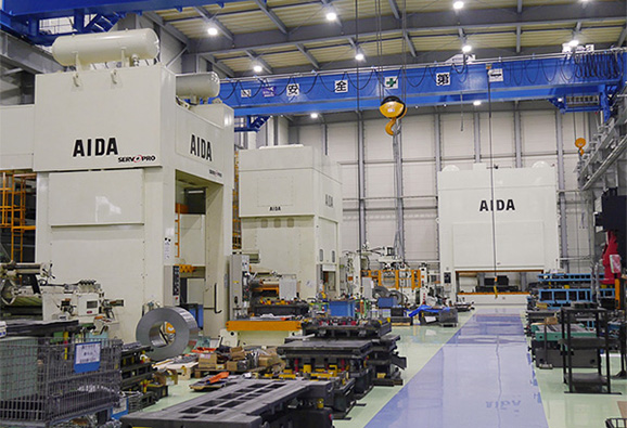 1600ton1000ton,600ton TRYOUT PRESS MACHINE (AIDA ENGINERING)