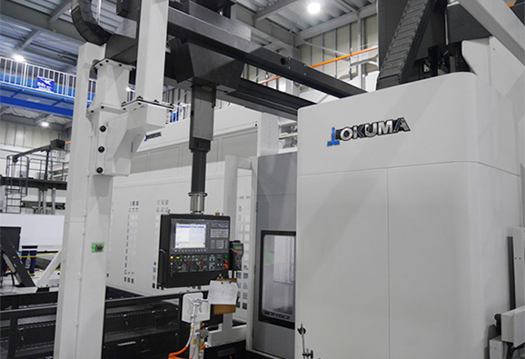 LARGED-SIZED DOUBLED-COLUMN MACHINING CENTERS(5-Sided Applications)